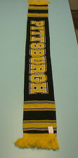 PITTSBURGH STEELERS GOLD AND BLACK SCARF - NEW