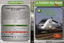 15522 // COLLECTION DVD TBE LA PASSION DES TRAINS VOL 35 LE RECORD DU MOND