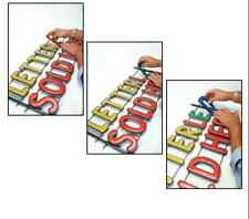 """5"""" LED Letters Customizable Store Signs, Gifts, Window Signs, Directional signs"""