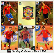 2010 Panini South Africa World Cup Soccer Cards Team Set Espana (10)