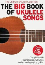 The Big Book Of Ukulele Songs LEARN TO PLAY Toto COLDPLAY Beatles UKE MUSIC BOOK