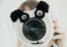 Panda Bear Camera Lens Buddy, Photography, Children, Kids, Character