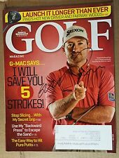 Autographed Graeme McDowell Magazine Signed