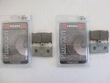 FERODO 4 PASTIGLIE FRENO ANTERIORE SUZUKI GSX-R 750 Y 2000 2001 2002 2003