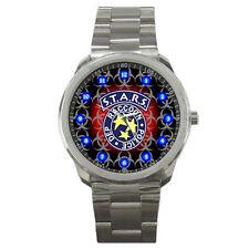 Resident Evil 5 6 S.T.A.R.S. STARS Metal Sport Watch