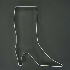 HIGH TOP BOOT 6.75 COOKIE CUTTER BIRTHDAY PARTY FAVOR LADIES FONDANT STENCIL NEW