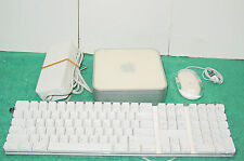 Apple Mac mini G4 With Power Supply 1.25GHz 1GB  40GB A1103 Keyboard Mouse