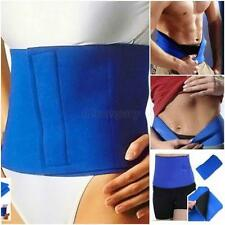 Mens Trimmer Waist Corset Slimming Belt Beer Belly Wrap Body Shaper Fat Burner
