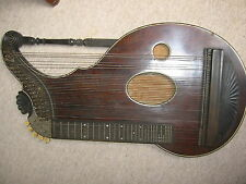 very nice, big  and old alpine Harp Zither