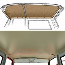 1969-1977 Early Ford Bronco Headliner, New, Parchment White, Blemmed