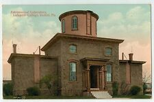 Astronomical Laboratory at Lafayette College in Easton PA 1910
