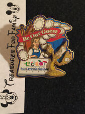 Disney LE Pin WDW Food & Wine Festival 2003 Princess Belle Be Our Guest Lumiere