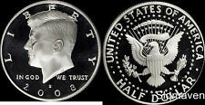 2008 S 90% Silver Kennedy Half Dollar Deep Cameo Gem Proof