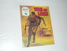 Battle Picture Library Comic Magazine No904 Win or Lose Ju87 Panzer WW2 F1 Car
