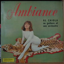 AL CAIOLA SA GUITARE ET SON ORCHESTRE SEXY CHEESECAKE COVER FRENCH LP