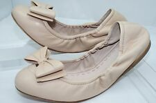Miu Miu Womens Shoes Prada Calzature Donna Size 38 Cream New Ballerina Flats NIB