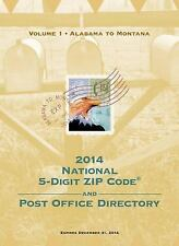 2014 National Zip Code Directory by U.S. Postal Service Paperback Book (English)