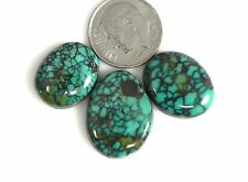 Natural Tibetan Turquoise Colorful Loose Cabs Gems beautiful pure Tibet t002