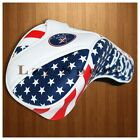 New USA Flag Golf Headcover Driver Club Cover For Titleist Taylormade Callaway