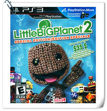 PS3 Little Big Planet 2 Sony PlayStation Platform Games SCE