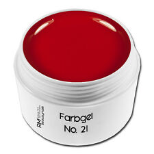 Farbgel Colorgel UV-Gel 5ml No.21 Rot Red Nageldesign Nailart #00730-21
