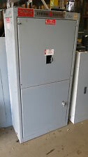 GE 400 Amp Main Breaker 120/208 Volt 3 Phase CT Cabinet- E1264