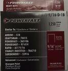 Powerfast P-A11-9/16-D-1B 9/16