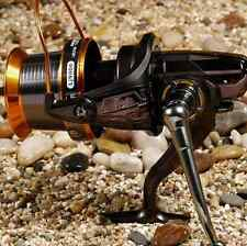 Full Metal 12+1BB Ball Bearing Sea Fishing Wire Cup Spinning Reels 4.1:1 LJ9000