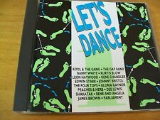 LET'S DANCE VOL 1 CD KOOL THE GANG BARRY WHITE KURTIS BLOW JAMES BROWN G. GAYNOR