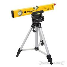 Laser Level Kit Rotating Base Builder Level Silverline SL01 surveying 30m