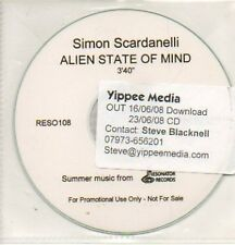 (710K) Simon Scardanelli, Alien State of Mind - DJ CD