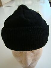 US NAVY USN USS SEAL SAILOR SEABEE SHIP SHORE AIR SAILOR'S BLACK WOOL WATCH CAP
