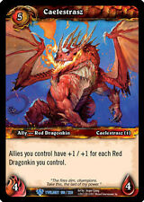 WOW WARCRAFT TCG TWILIGHT DRAGONS : CAELESTRASZ X 4