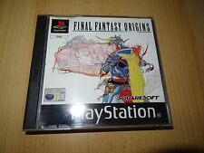 Final Fantasy Origins for Sony PlayStation 1 ps1  UK VERSION MINT COLLECTORS