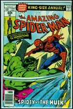 Marvel Comics The Amazing SPIDER-MAN King-Size Annual #12 The Hulk FN 6.0