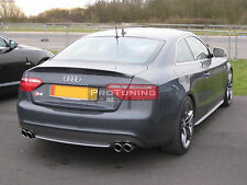 Audi A5 Coupe Rear trunk spoiler Caractere style Rear Boot Lip Spoiler wing trim