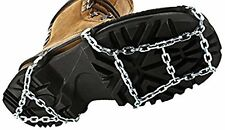 ICEtrekkers 06061 Durable Shoe Boot Slip On Chains Winter Traction Unisex Medium