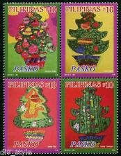 Christmas 2015 Se-tenant block of 4 mnh stamps Philippines