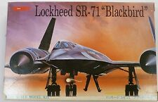 Tsukuda 1/288 Lockheed Sr-71 Blackbird Aircraft Kit New