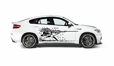 ANIME GIRL WITH GUN DECAL GRAPHIC VINYL FOR CAR