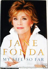 JANE FONDA HAND SIGNED AUTOGRAPHED MY LIFE SO FAR 1ST EDITION BOOK! EXACT PROOF!