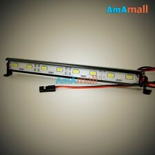 RC 1/10 Aluminum LED Light Bar 6V ~ 7.4V W/ JR Plug F TAMIYA AXIAL RC4WD Crawler