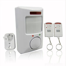Remote Control Wireless Infrared Motion Sensor Alarm Security Home Door System
