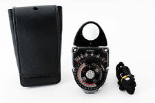 [Exc+++++] Sekonic studio deluxe L-398 light meter w/Case From Japan F/S #152727