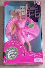 Twirlin' Make-Up Barbie Doll 1997 NRFB Vintage Retired