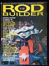 Vintage Rod Builder Magazine May 1960 - Go Kart Section - How-To Resource Guide