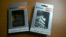 2 STIHL Sägeketten 3/8P-50E-1,3 Picco Micro 3 PM3 50TG 35cm für Stihl Alpina usw