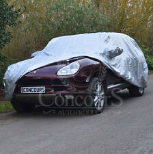 Porsche Cayenne 4x4 Breathable Car Cover with Mirror Pockets, Models 2002 ON
