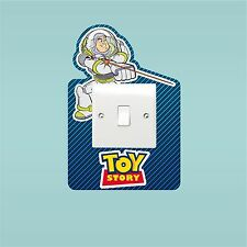 Toy Story Buzz Woody Light Switch Surround Sticker Cover Vinyl Kids Bedroom