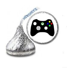 216 VIDEO GAME GAMING HERSHEY'S KISS BIRTHDAY STICKER LABELS - Party Favors